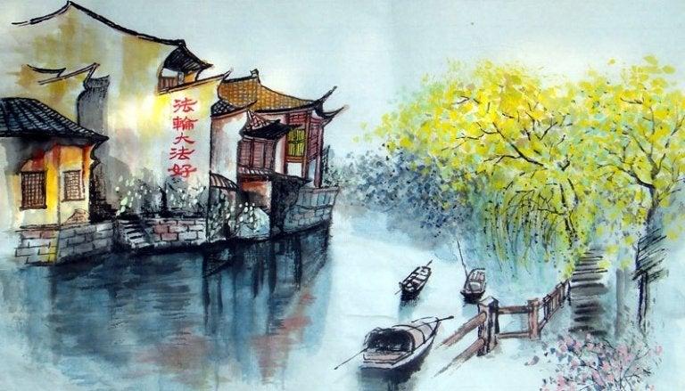 Cruzar el río, una antigua historia zen