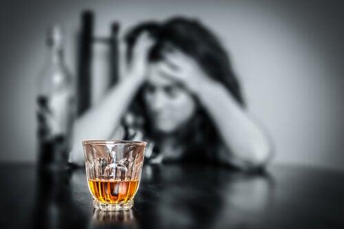 Mujer alcoholica