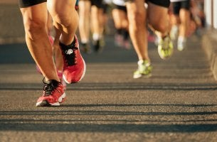 Personas corriendo maraton