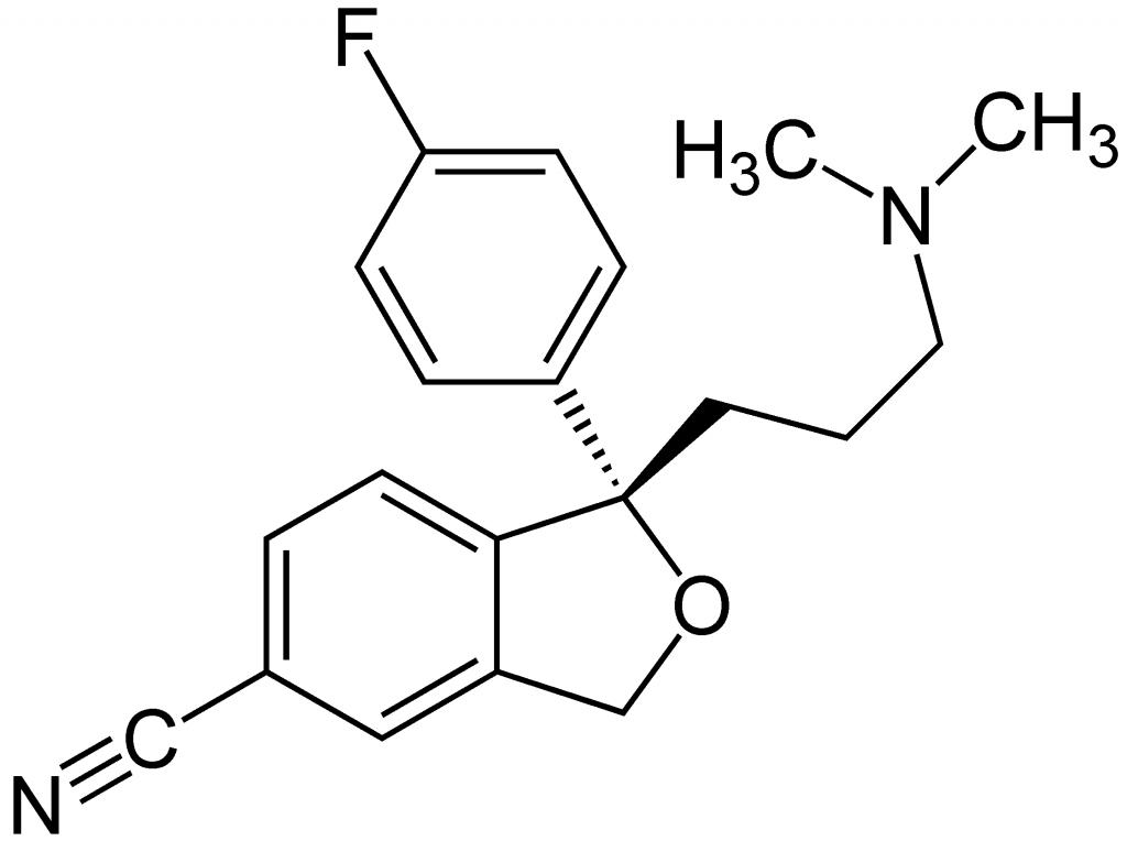 fórmula del Escitalopram
