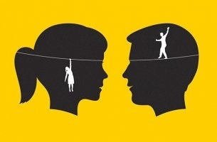 imagen simbolizando a los Hombres y mujeres machistas