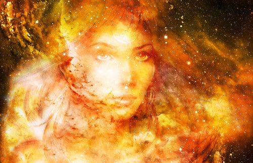 Imagen de diosa