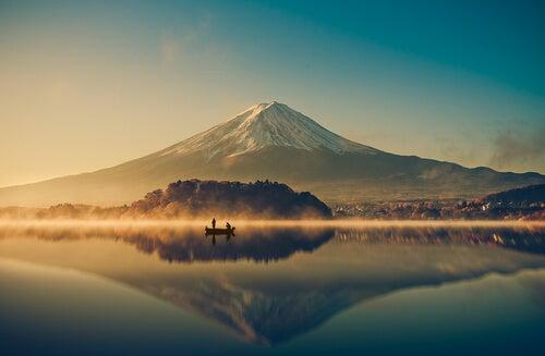 Japonés navegando