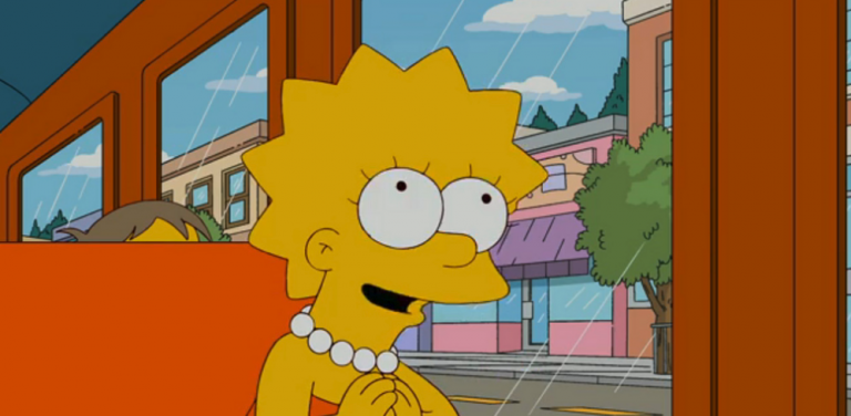 Lisa Simpson, el castigo de ser inteligente