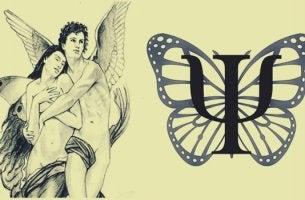 ilustración representando el símbolo de psicología