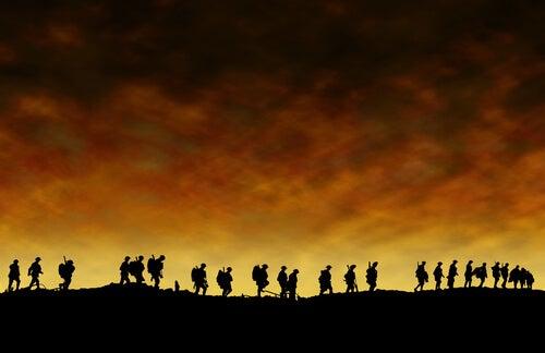 Locura de trinchera: la neurosis de la Primera Guerra Mundial