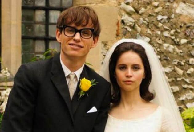 Stephen Hawking y su mujer
