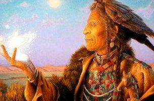 Tolteca simbolizando los códigos para vivir