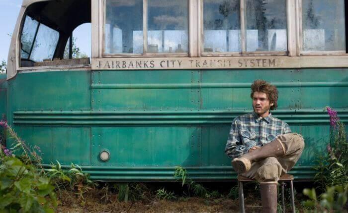 Imagen de Hacia rutas salvajes como un de las películas para el autodescubrimiento