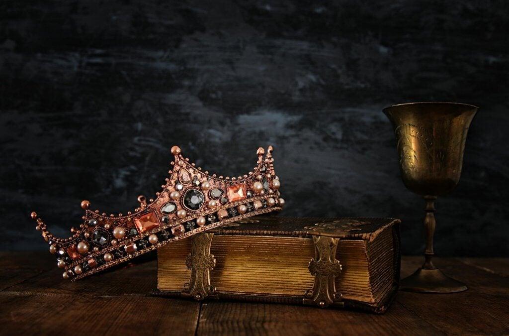 Corona de un rey