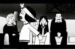 Imagen de personajes de persépolis