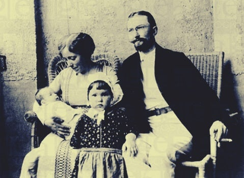 Karen Horney y su familia