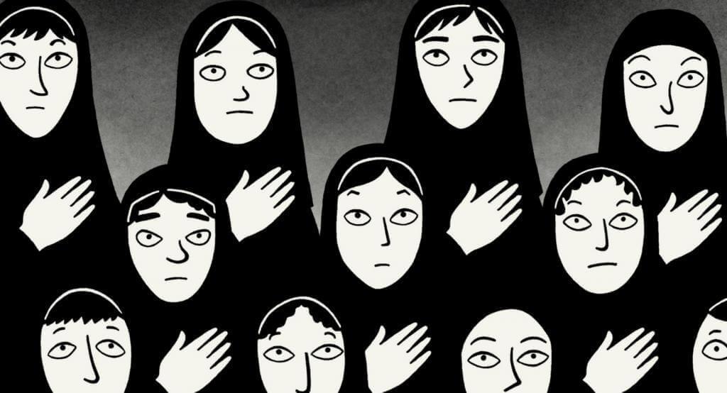 Mujeres árabes de persépolis