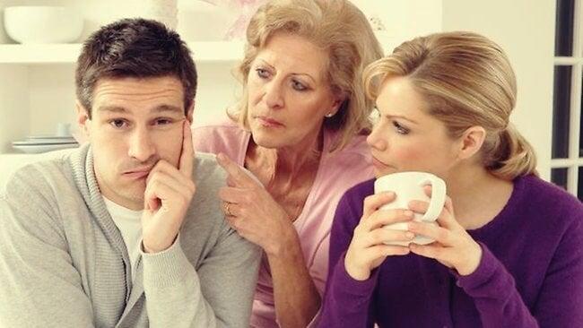 Cuando la familia afecta a la relación de pareja