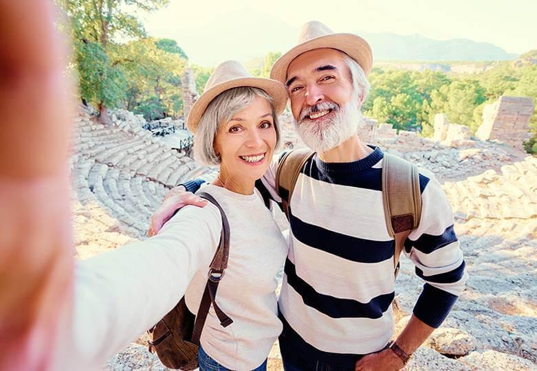 pareja superando la la crisis de la mediana edad