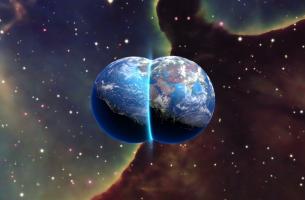 planetas simbolizando la hipótesis de los universos paralelos