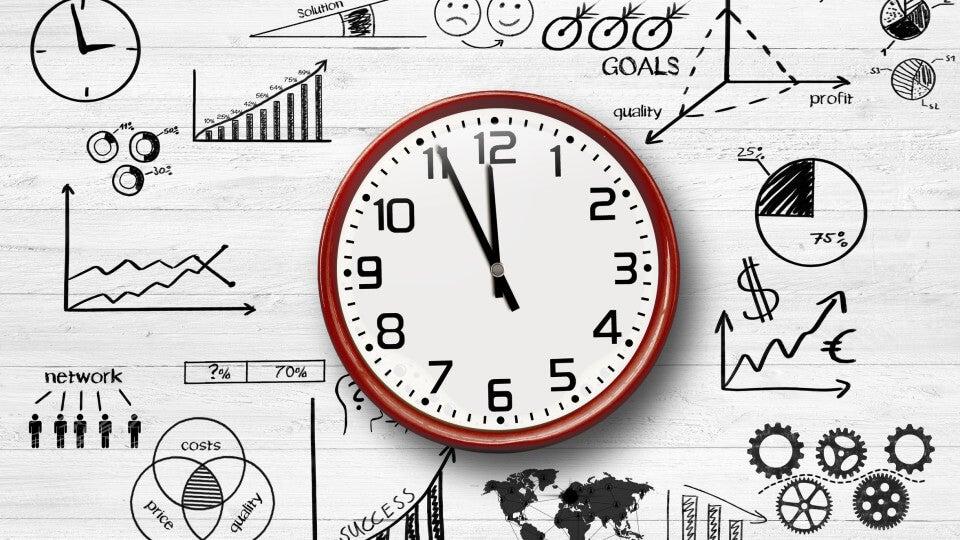 Reloj con dinámicas simbolizando la Ley de Illich