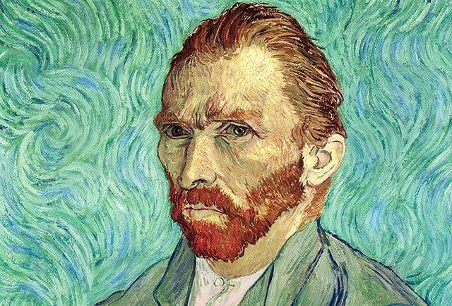 retrato de Van Gogh representando la relación entre la creatividad y el trastorno bipolar