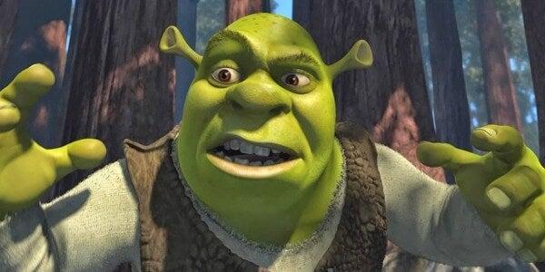 Shrek en soledad en su pantano