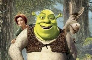 Shrek, Fiona y Asno