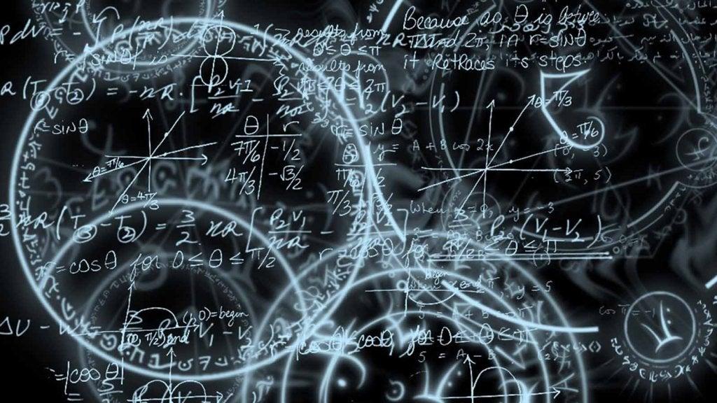 teoría simbolizando la hipótesis de los universos paralelos