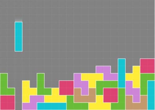 Videojuego del tetris