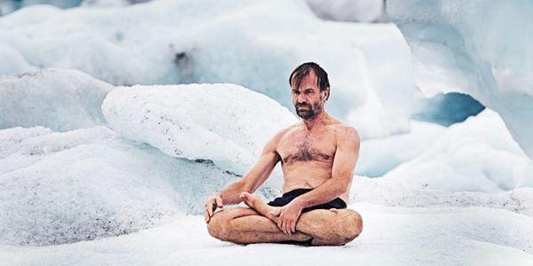 Wim Hof en el hielo