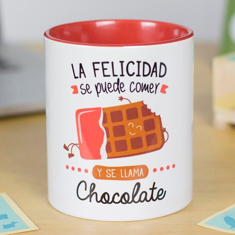 La felicidad se puede comer y se llama chocolate