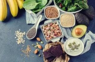 Alimentos de una dieta antidepresiva