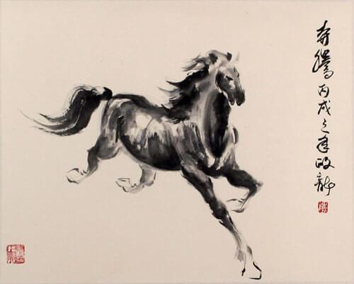 caballo simbolizando fábula china