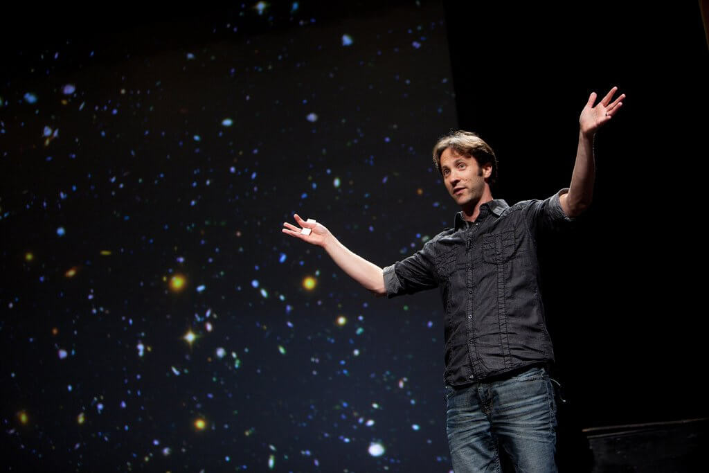 David Eagleman en una charla Ted