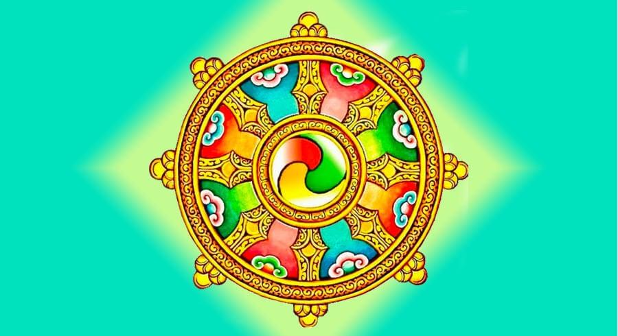 simbolo del Dharma