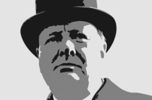 Ilustración de Churchill