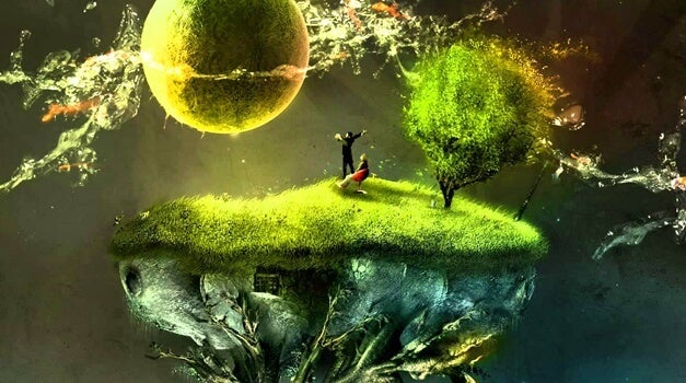 imagen fantasiosa simbolizando la terapia metafórica