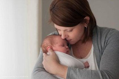 Madre con bebé