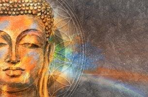 Media cara de Buda
