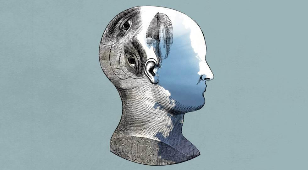 perfil de persona simbolizando cómo el inconsciente detecta las mentiras