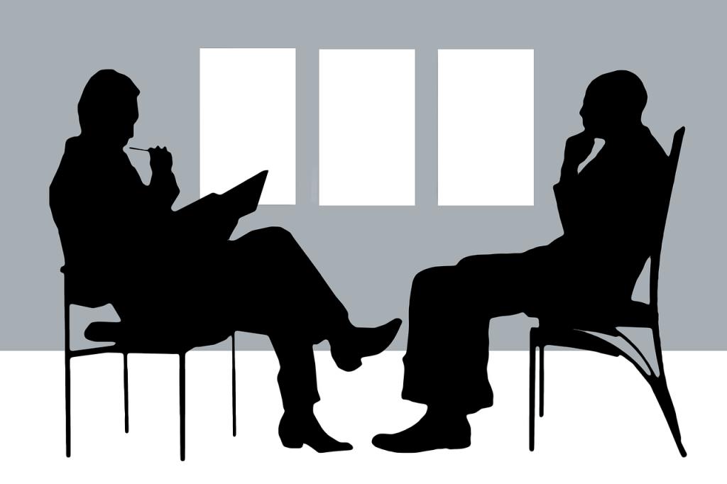 Psicólogo y paciente