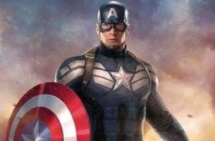 Capitán América con escudo