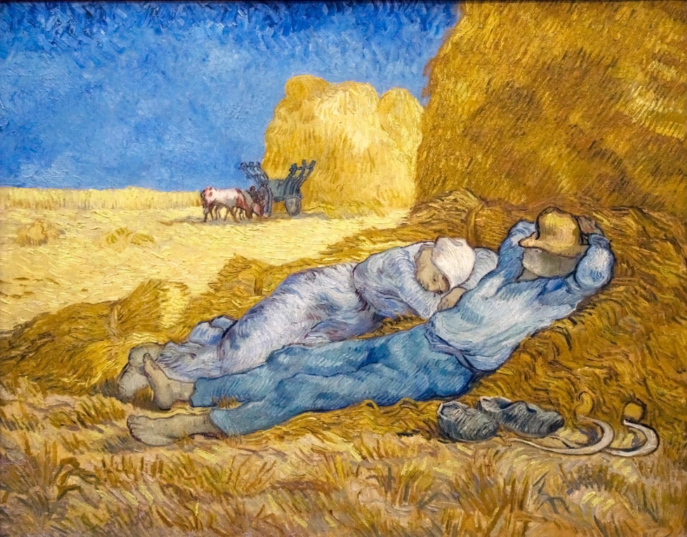 La siesta de Van Gogh
