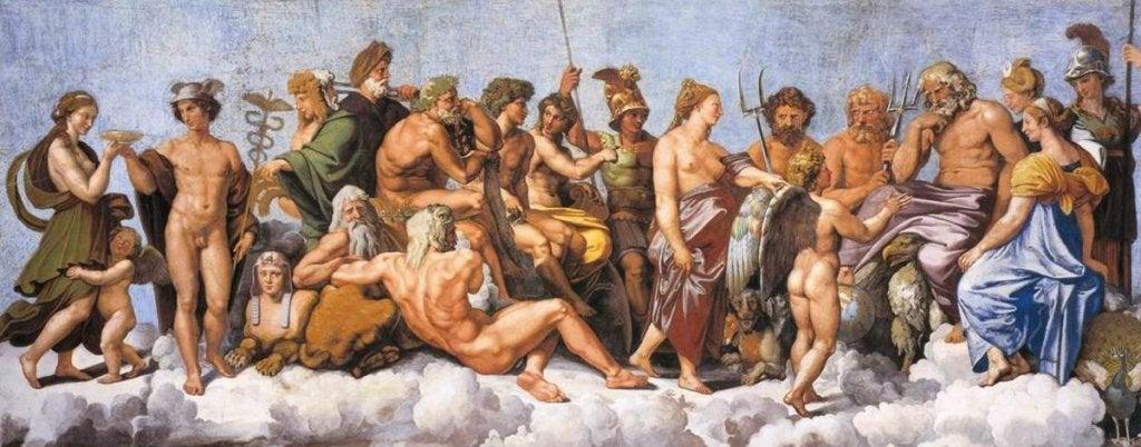 Los personajes de la mitología griega nos hablan del riesgo