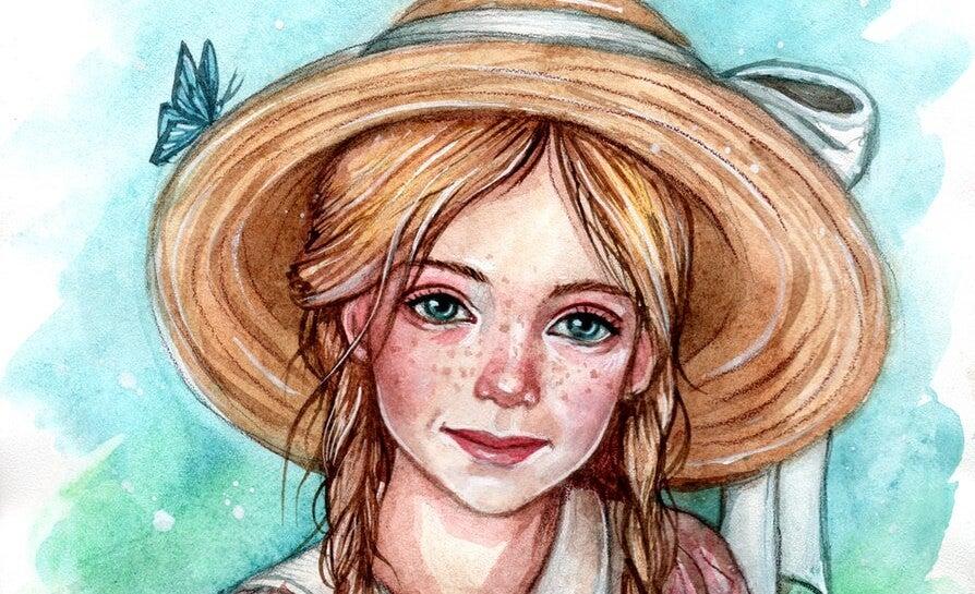 ilustración representando el principio de Pollyanna