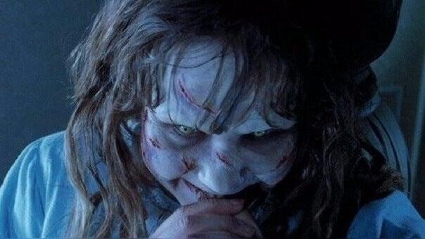 Niña protagonista de la película El Exorcista