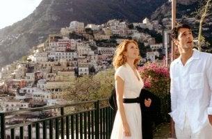 Pareja de Bajo el Sol de la Toscana