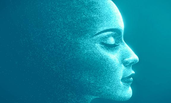 perfil femenino simbolizando la intuición e instinto
