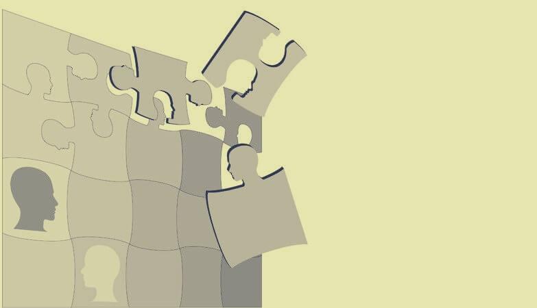 puzzle simbolizando las teorías de Raymond Cattell