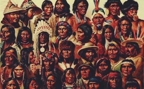 nativos representando las teorías de Géza Róheim