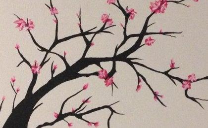 sakura en flor