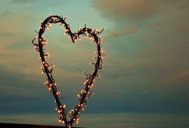 Corazón de luces