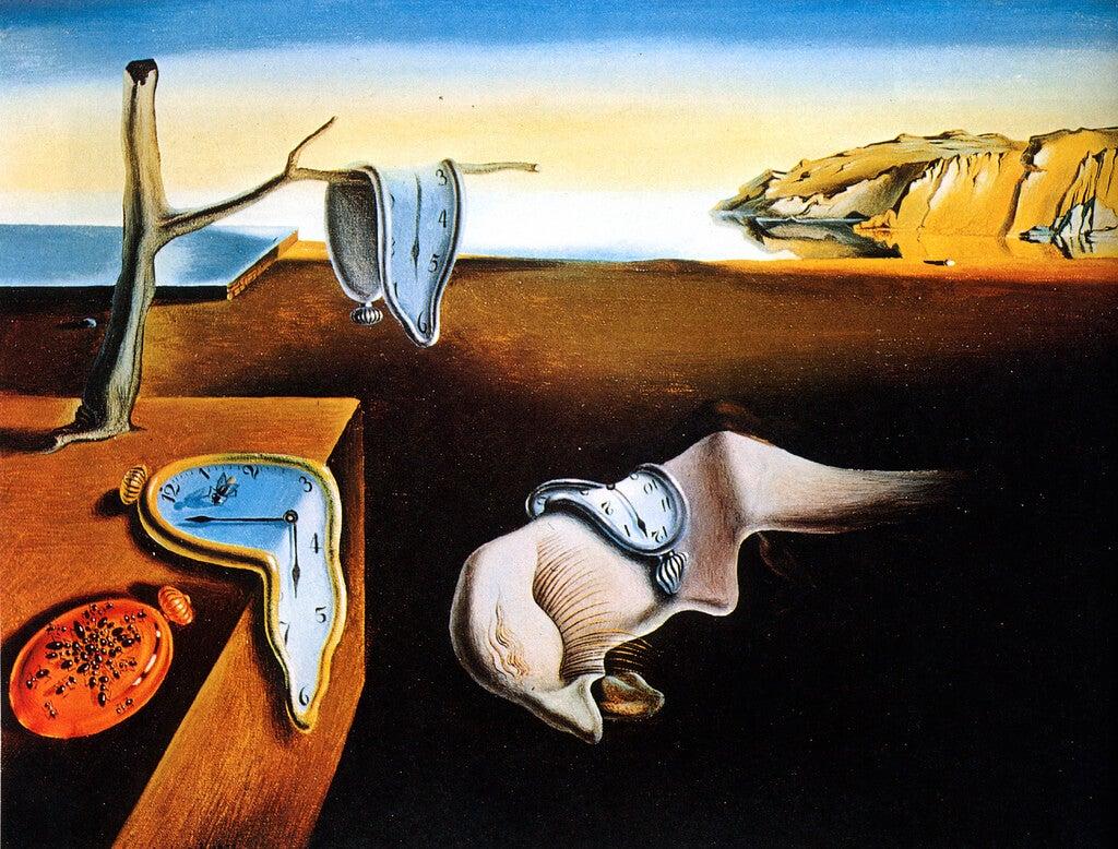 El paso del tiempo, obra de Salvador Dalí
